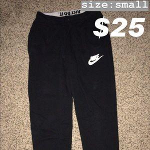 Nike joggers - Black and White